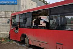 Задержан водитель въехавшего в стену автобуса в Перми