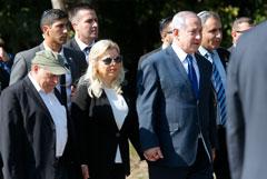 Жену Нетаньяху раскритиковали за ее поведение на Украине