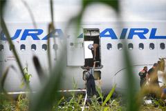 Севший на кукурузное поле Airbus будет утилизирован