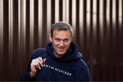 Алексей Навальный вышел на свободу из спецприемника после 30 суток ареста