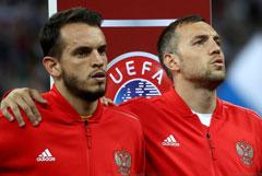 Назван состав сборной России по футболу на матчи с Шотландией и Казахстаном