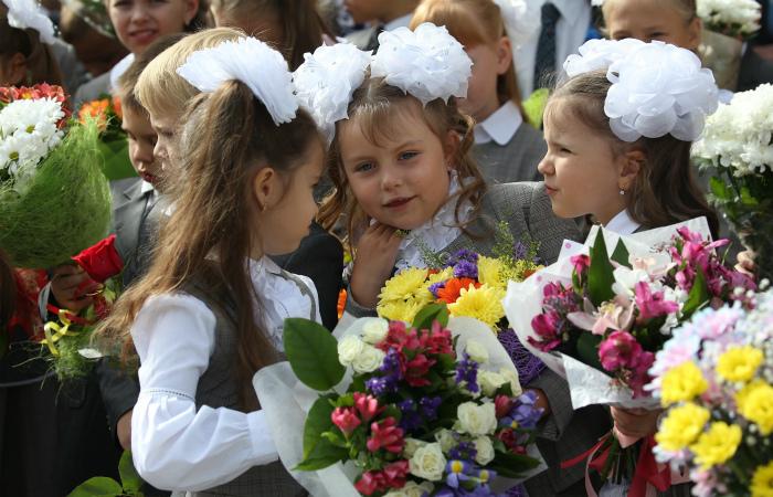 Россияне стали экономить на цветах к 1 сентября