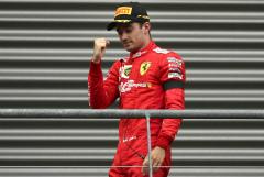 """Шарль Леклер из Ferrari выиграл Гран-при Бельгии """"Формулы-1"""""""