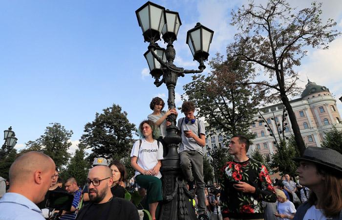 Административное дело заведено по факту несогласованного митинга 31 августа в Москве