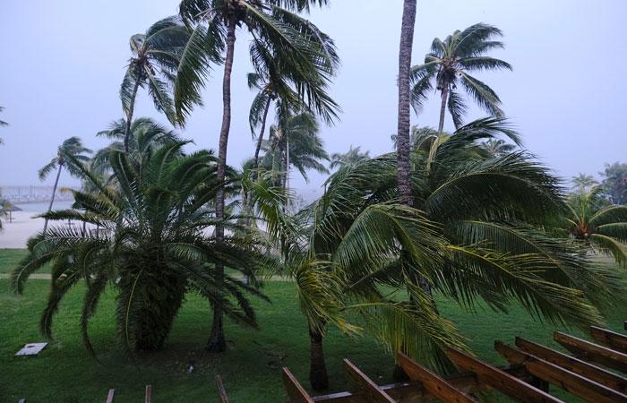 Багамы, остров Большой Абако накануне урагана