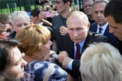 Путин потребовал от Сбербанка реструктурировать долги пострадавших от наводнения