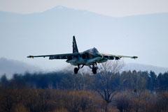Власти ставропольского района сообщили, что пилоты разбившегося Су-25 найдены