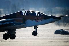 Учебный штурмовик Су-25 разбился на Ставрополье
