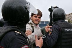 В МВД заявили, что полиция не мешала работе журналистов на акциях в Москве