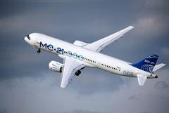 Путин заявил, что санкции США не помешают производству самолета МС-21