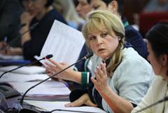 Памфилова заявила об ответственности горизбиркома Петербурга в связи с нарушениями