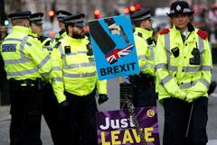"""Полиция предупредила, что от """"жесткого"""" сценария Brexit выиграет мафия"""