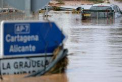 Наводнения на юго-востоке Испании унесли жизни четырех человек