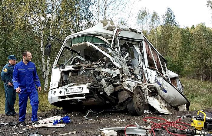 В полиции назвали водителя фуры виновником ДТП под Ярославлем