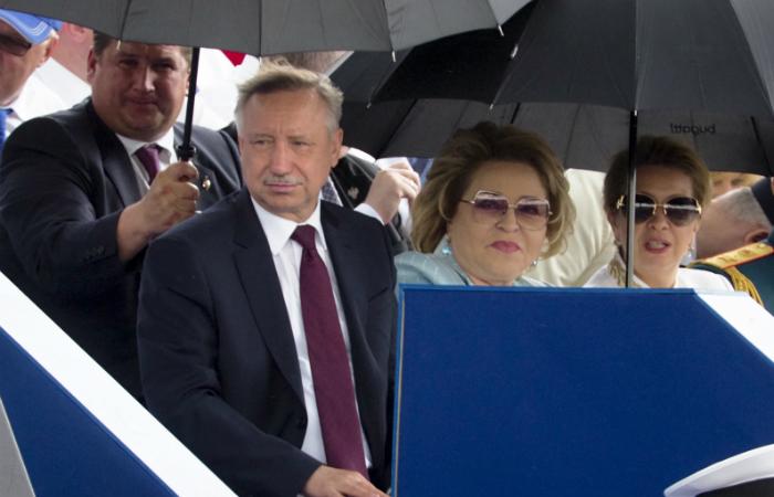 Беглов выдвинет Матвиенко сенатором от Смольного