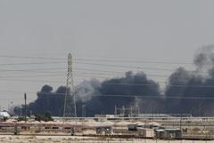Цены на нефть взлетели после атак на нефтяные объекты в Саудовской Аравии