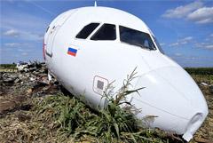 """""""АльфаСтрахование"""" назвало выплаты за гибель SSJ 100 и посадку Airbus в поле"""