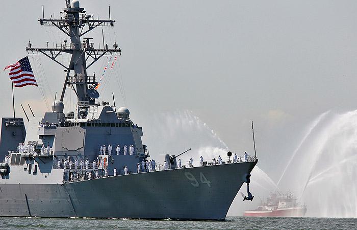 США разместили эсминец в Персидском заливе для защиты Саудовской Аравии