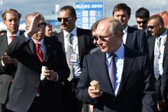 Производитель мороженого, которое покупал Путин, построит цех под экспорт