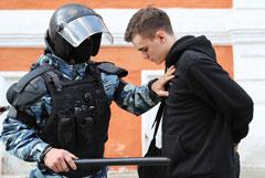 Во время московских протестов полиция задержала 225 несовершеннолетних