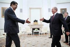 Путин заверил Мадуро в поддержке легитимных властей Венесуэлы