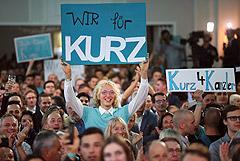 Партия Курца вышла в лидеры на парламентских выборах в Австрии