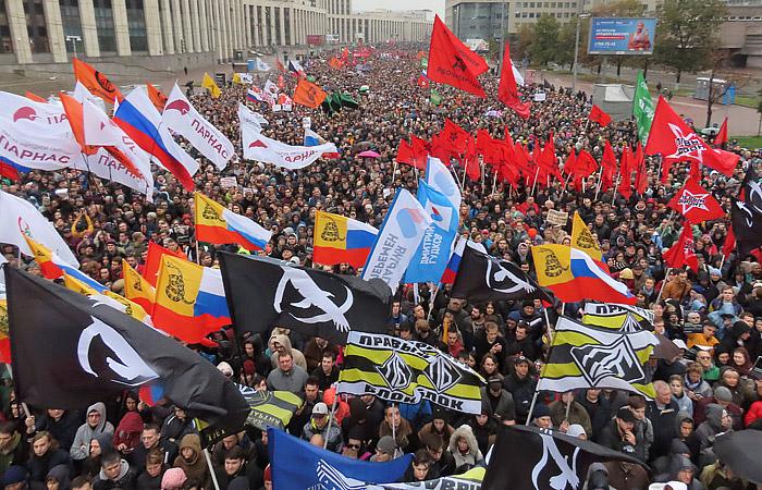 Полиция насчитала 20 тыс. человек на митинге в центре Москвы