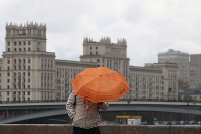 Воскресенье в Москве будет дождливым