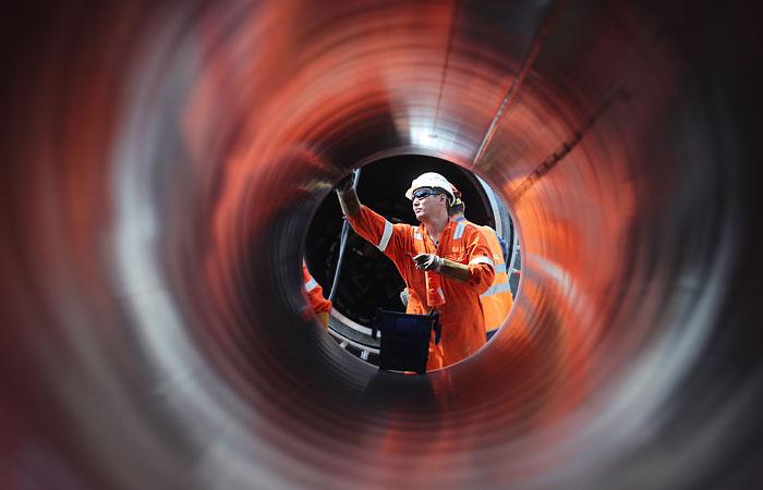 """""""Газпрому"""" осталось всего 1,5 месяца до завершения строительства """"Северного потока 2"""""""