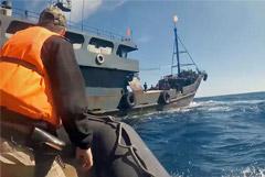 Российские пограничники задержали со стрельбой браконьеров из КНДР в Японском море