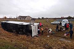В аварии с автобусом под Нижним Новгородом пострадали 20 человек
