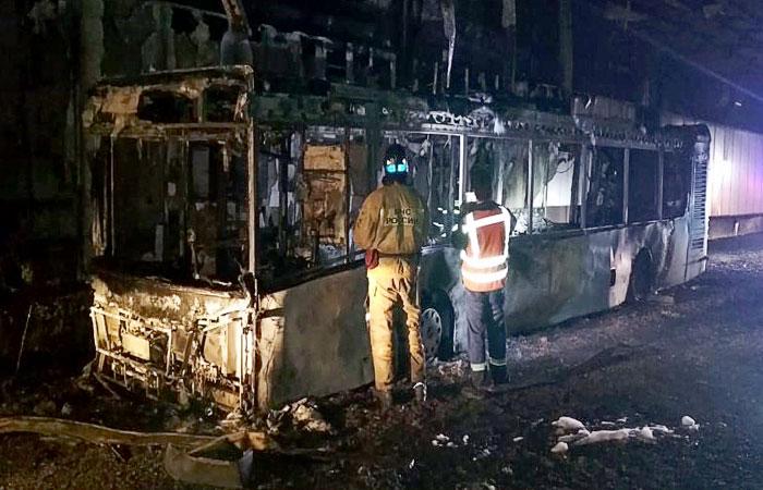 В московском тоннеле восстановили движение после ЧП с загоревшимся автобусом