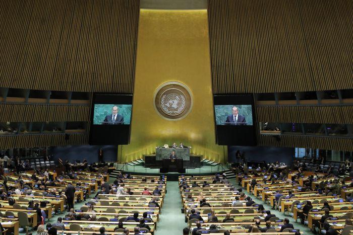 Источник сообщил о приостановке работы Первого комитета ГА ООН