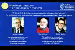 Объявлены лауреаты Нобелевской премии по физике