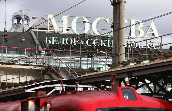 На Белорусский вокзал в Москве прибудет поезд с радиоактивным вагоном