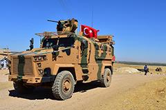 Турция начала переброску военных на северо-восток Сирии
