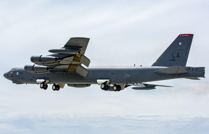 США перебросили в Европу бомбардировщики B-52H, способные нести ядерное оружие
