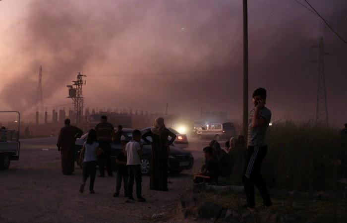 Турция объявила о вводе войск на северо-восток Сирии