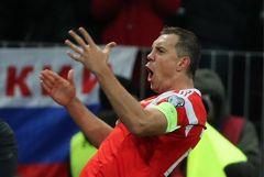 Россия разгромила Шотландию в отборочном матче Евро-2020 со счетом 4:0