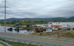 Вода ушла из всех жилых домов в Хабаровском крае