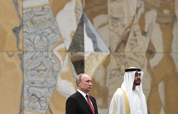 Путин оценил в $1,5 млрд сделки между Россией и ОАЭ, заключенные в Абу-Даби