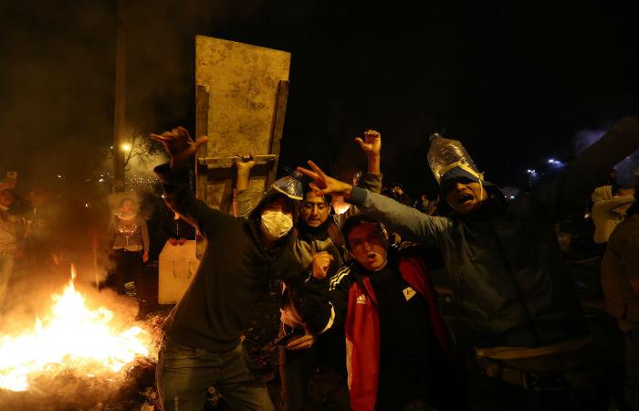 МВД Эквадора обвинило Russia Today в искаженном освещении беспорядков в стране