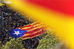 Более полумиллиона человек вышли в Барселоне на манифестацию