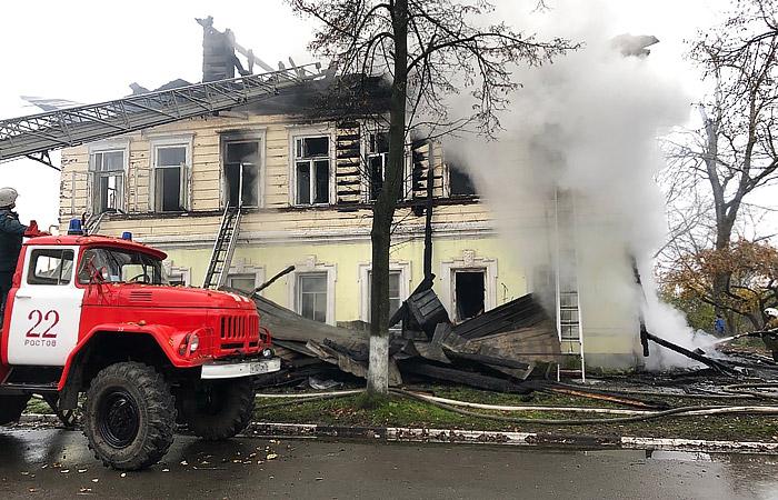 Житель Ярославской области задержан за поджог дома в Ростове, где погибли семь человек