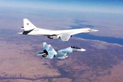 Два стратегических бомбардировщика Ту-160 отправятся в ЮАР
