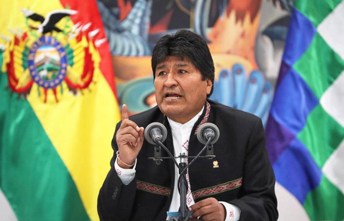 Президент Боливии заявил о попытке госпереворота в связи с выборами