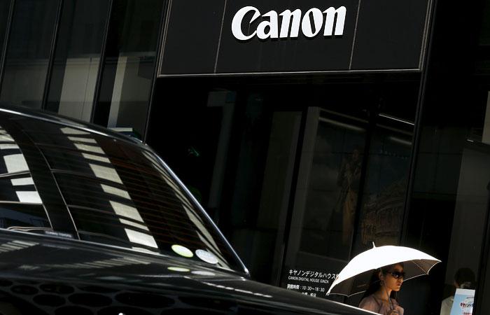 Квартальная прибыль Canon упала на 43%