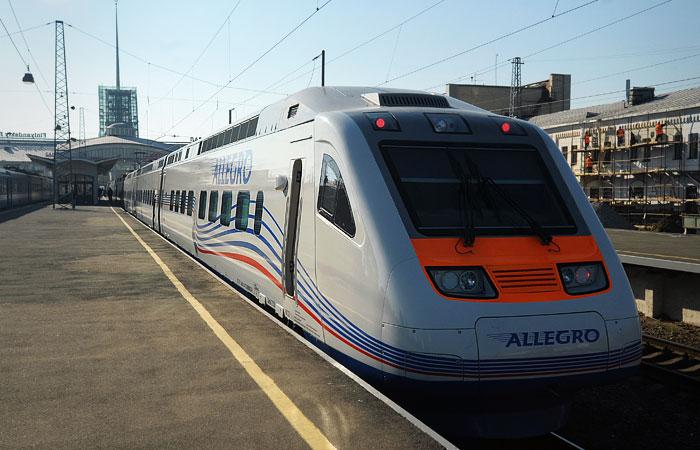 Русские  поезда задержали вФинляндии из-за нарушения электроснабжения