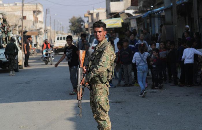 Отвод вооруженных сил из зоны безопасности в Сирии завершен досрочно