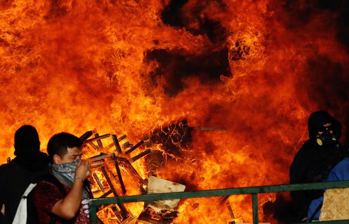 В Чили отменили проведение саммита АТЭС